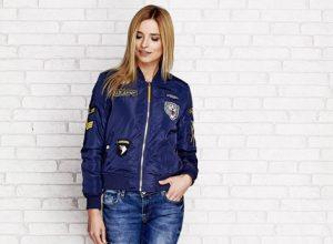 Bomber jacket- kurtka idealna na jesień oraz wiosnę
